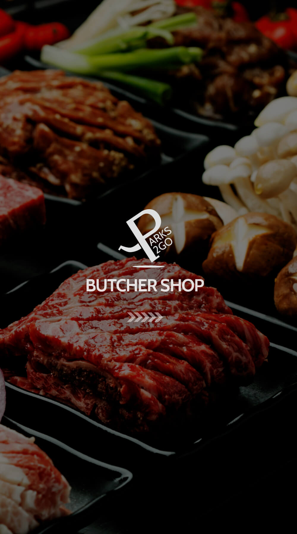 Parks BBQ Butcher Shop Meat with Logo